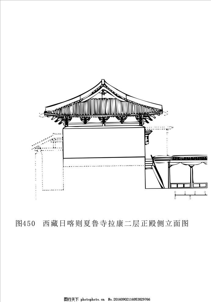 建筑 西藏建筑 藏式建筑 建筑图 线条建筑图 黑白建筑 底纹边框图片