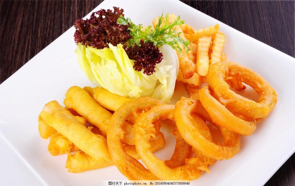 食物美食 西餐 汉堡 薯条 可乐鸡翅 优雅 高端 摄影 西餐美食