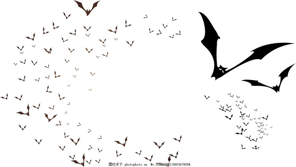 标志 图标 蝙蝠 剪影 插画 手绘素材 黑色蝙蝠素材 蝙蝠剪影 矢量蝙蝠