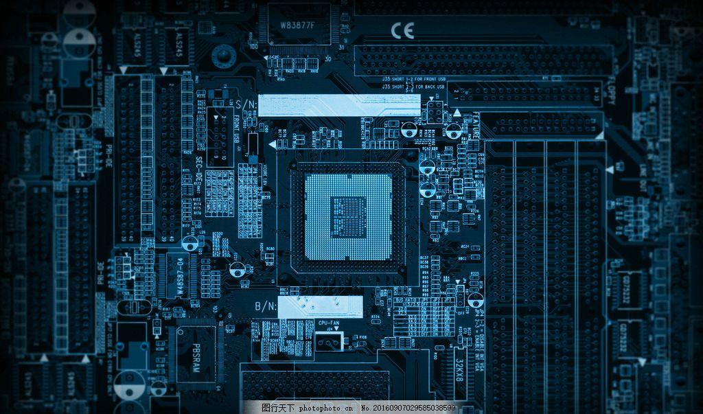 高科技电路板图