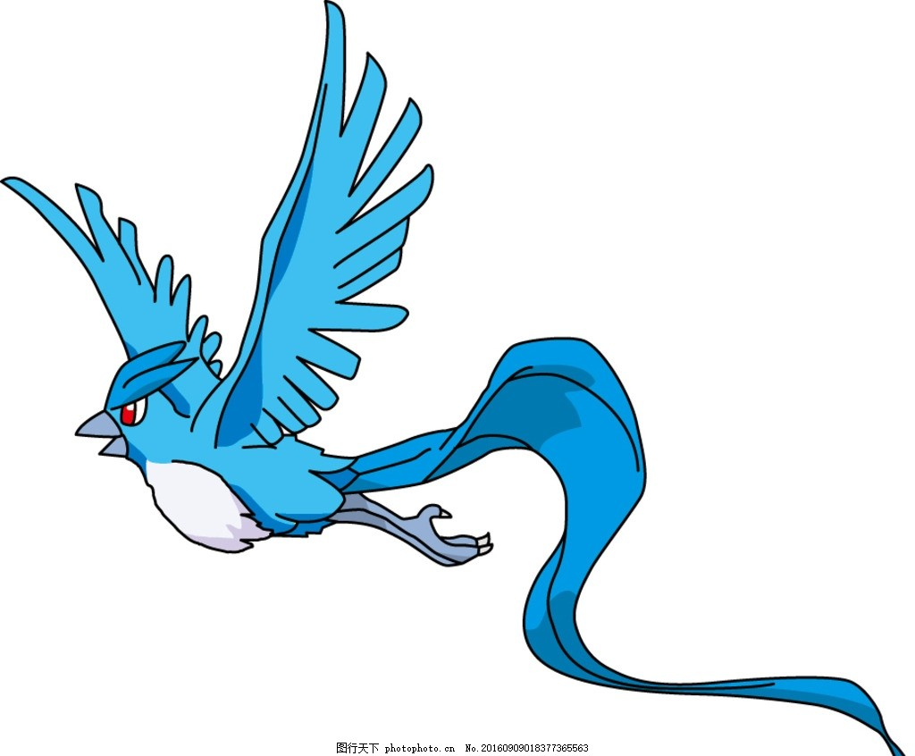 急冻鸟 宠物小精灵 神奇宝贝 精灵宝可梦 口袋怪兽 口袋妖怪 神奇宝贝