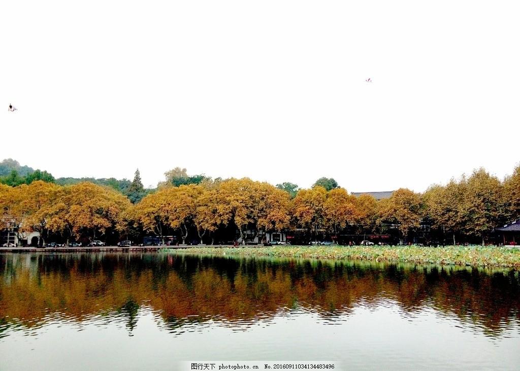 杭州 西湖 杭州美景 西湖美景 秋天的西湖 摄影 自然景观 自然风景 72