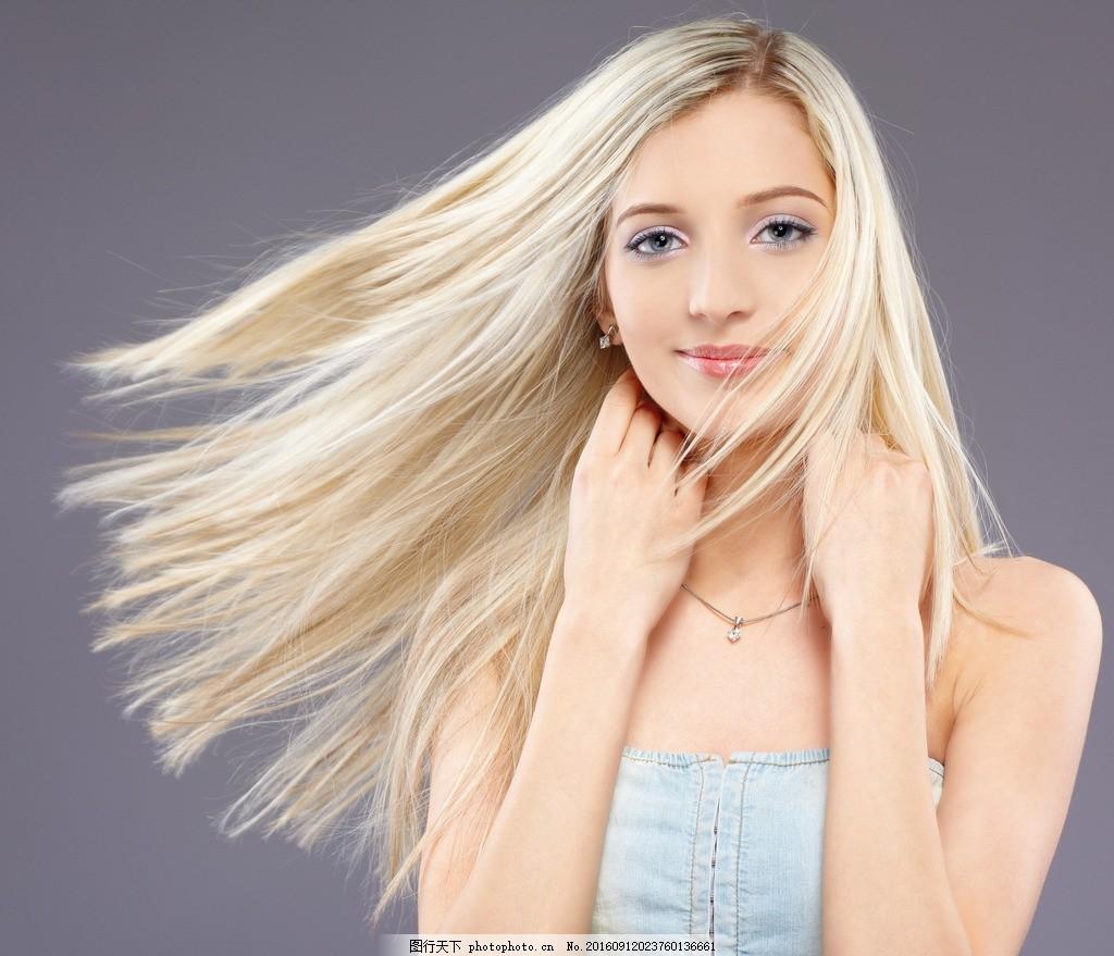 美发 美发模特 发型 长发 秀发 头发模特 女性模特 国外美女