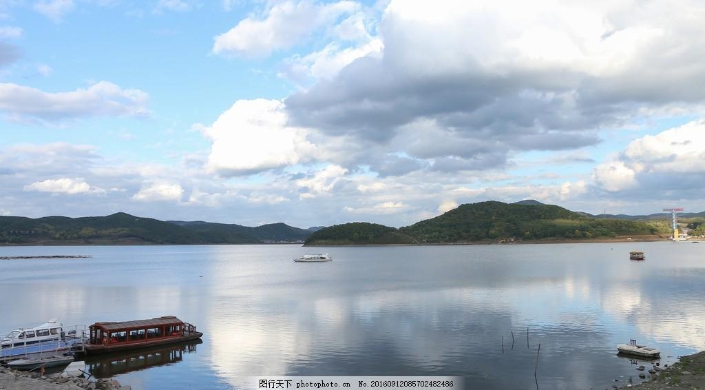 红星水库 哈尔滨水库 山水 风景 摄影 自然景观 自然风景