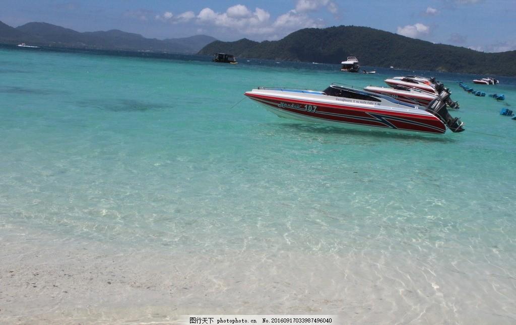 普吉岛风光 普吉岛风光之 情人岛 泰国普吉岛 沙滩 大海 天空