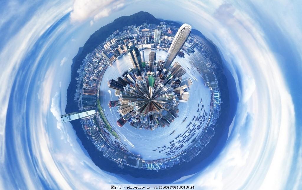 微型地球 盗梦空间 极坐标 黑洞 天空之城 拥挤的地球 大厦 城市