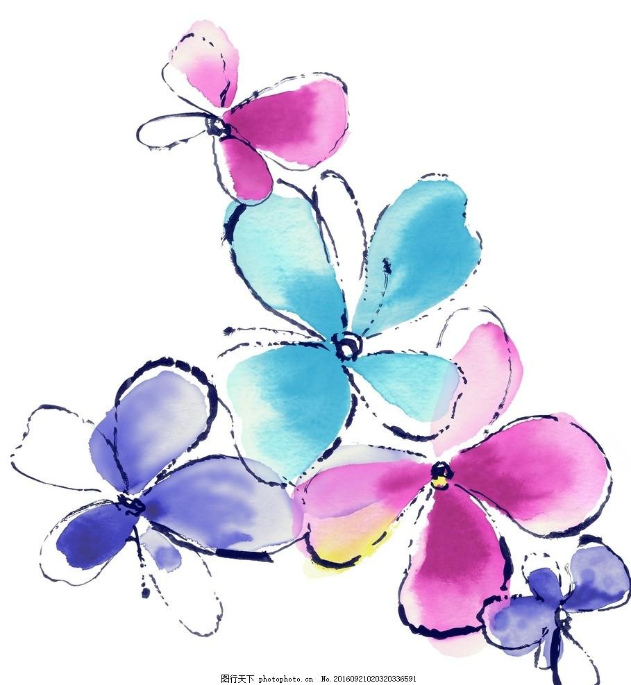 唯美花朵素材