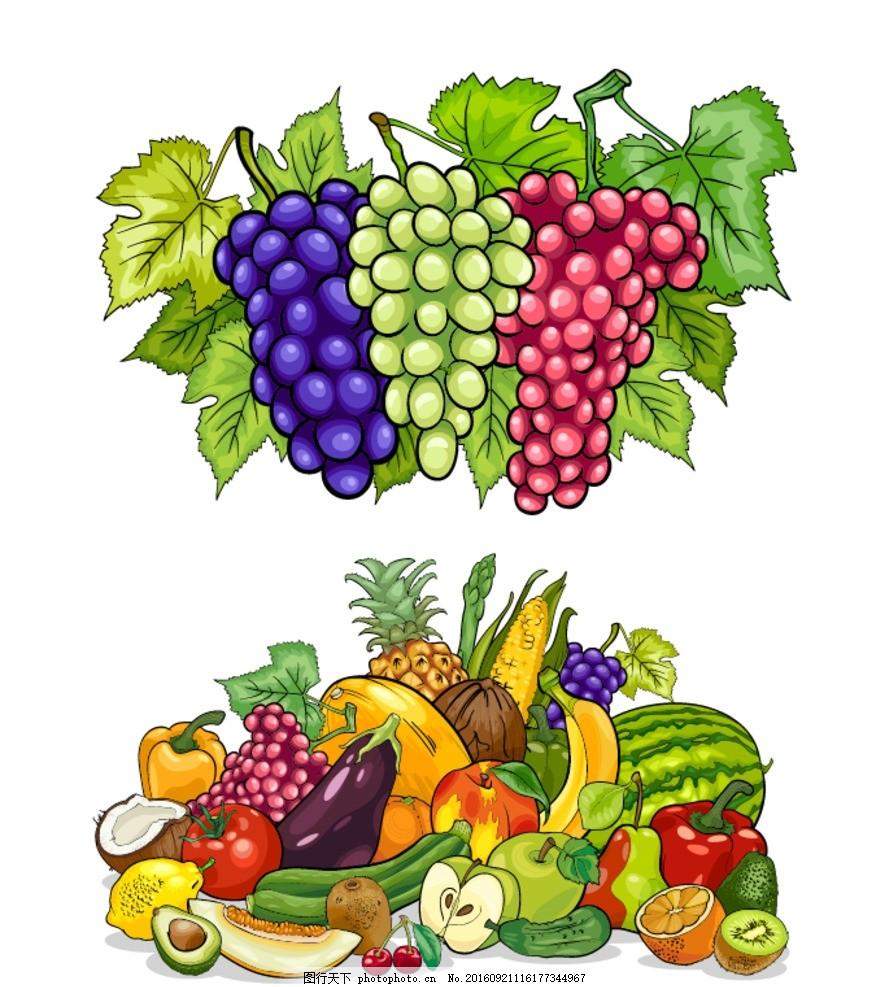 马克笔手绘水果超写实