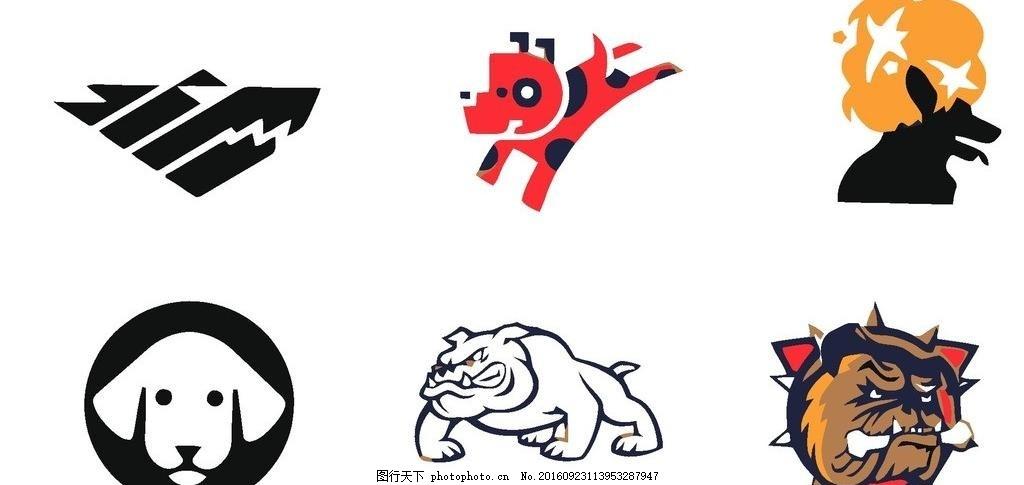 动物图标 动物标志 矢量图 动物简图 标志图标 其他图标图片