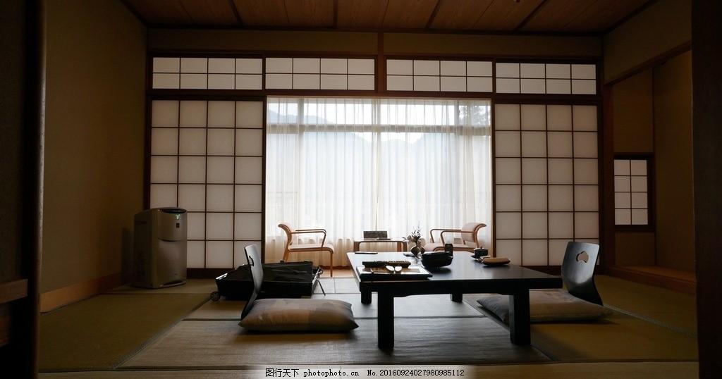 室内手绘效果图日式