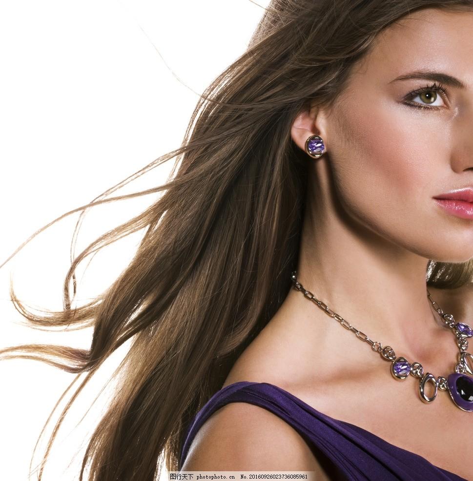 海报背景 长发美女 美女 气质美女 欧美美女 飘逸长发 外国模特 洋