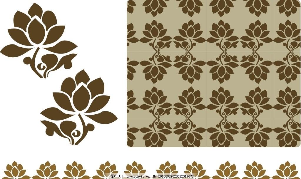 祥云 中式底纹 中式花纹 欧式底纹 欧式花纹 古典花纹 花 花边 木雕