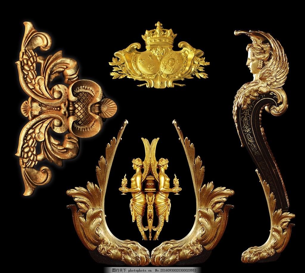 欧式边框,欧式花纹 欧式花边 金属花纹 金属边框 金色