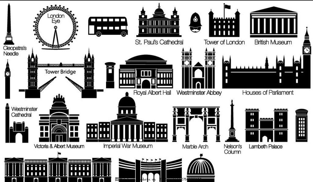素描 欧洲建筑 城市风景 手绘