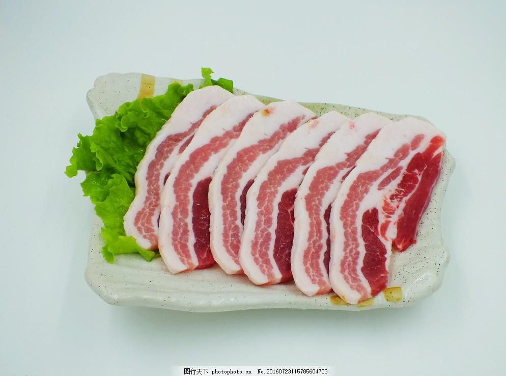 五花肉,韩国料理,韩国菜谱,韩国小吃,韩国菜图,摄影,餐饮美食